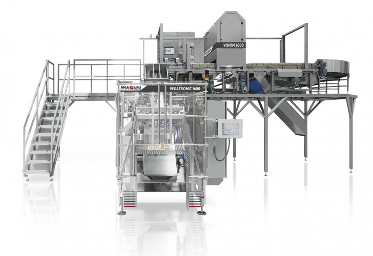 Ima Ilapak Vision 2000 counting machine and dosing system